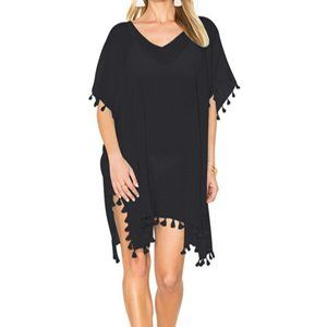 Other - ❤️ Classy Sexy Black Swimsuit Cover-Up OS